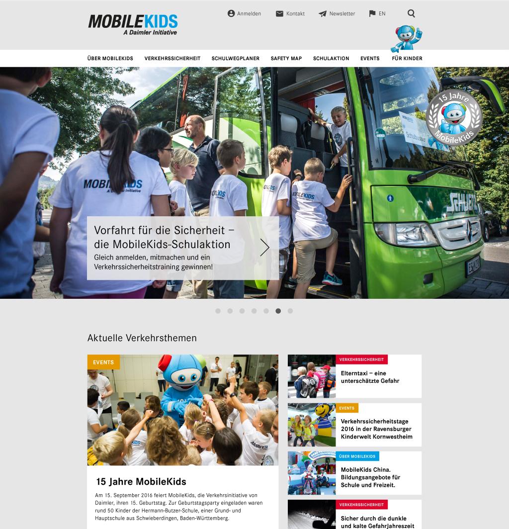 Mobilekids Homepage