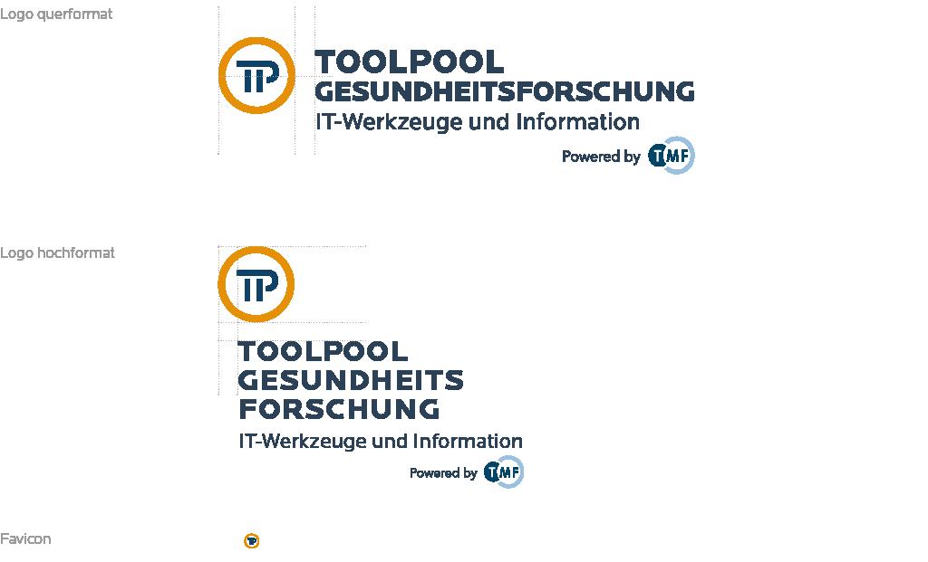 Logo des Portals in verschiedenen Größen