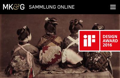if Design Award für die MKG Sammlung Online