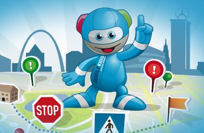 Plattform der Verkehrssicherheitsinitiative Mobilekids